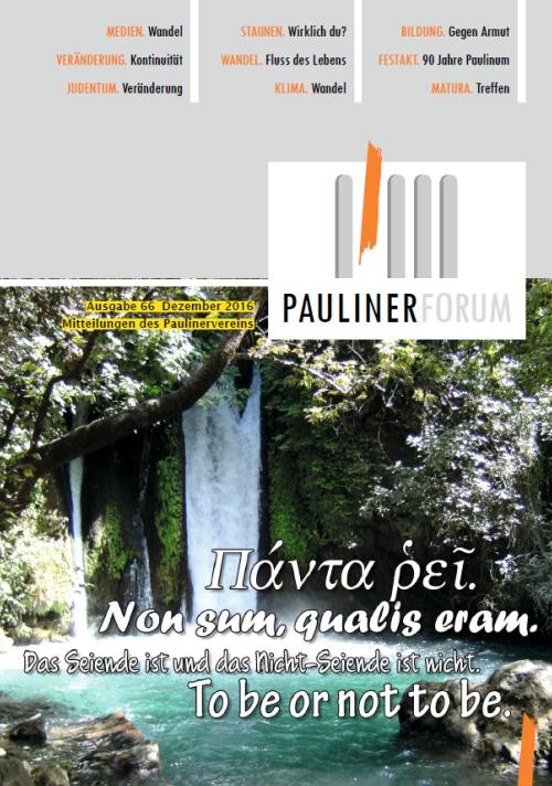 Mitteilungen des Paulinervereins